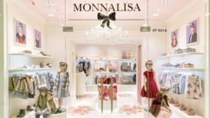 Vetrina negozio Monnalisa