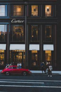 Facciata negozio Cartier